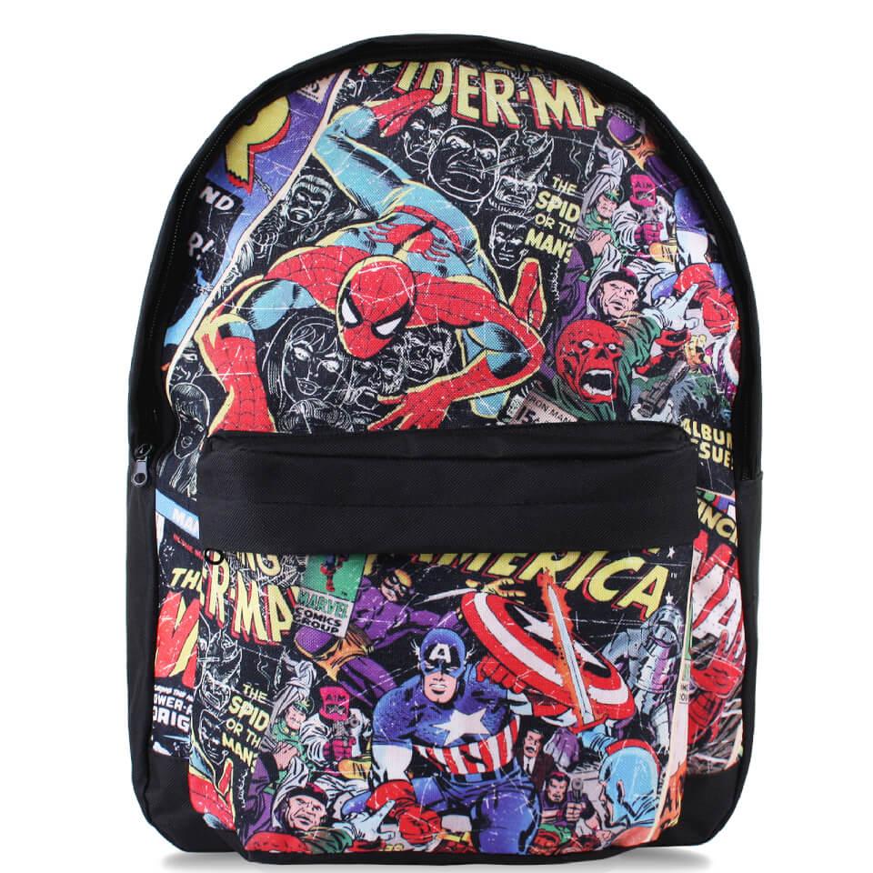 Marvel Men's Amazing Spider Man Backpack Black