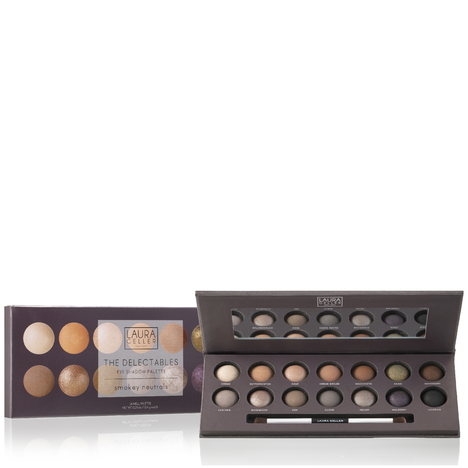 Laura Geller The Delectable Eyeshadow Palette With Brush Smokey