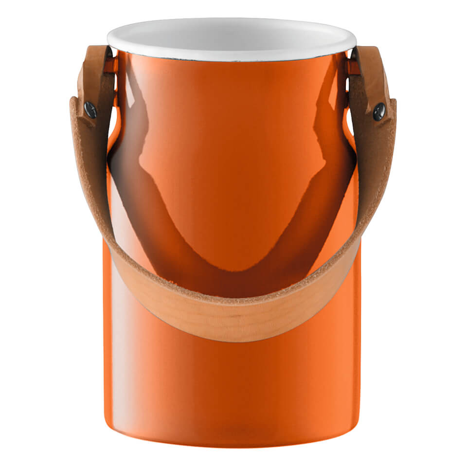 lsa-utility-utensil-pot-leather-handle-29cm-pumpkin-orange