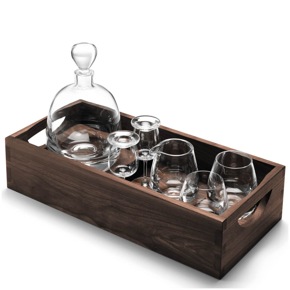 lsa-whisky-islay-connoisseur-set-clear-with-walnut-tray-44cm