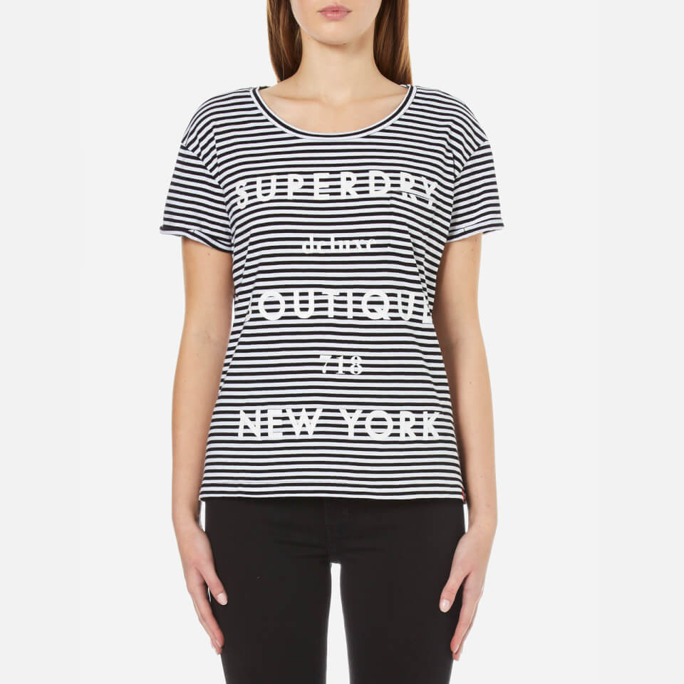 superdry-women-ny-pocket-t-shirt-black-white-stripe-m