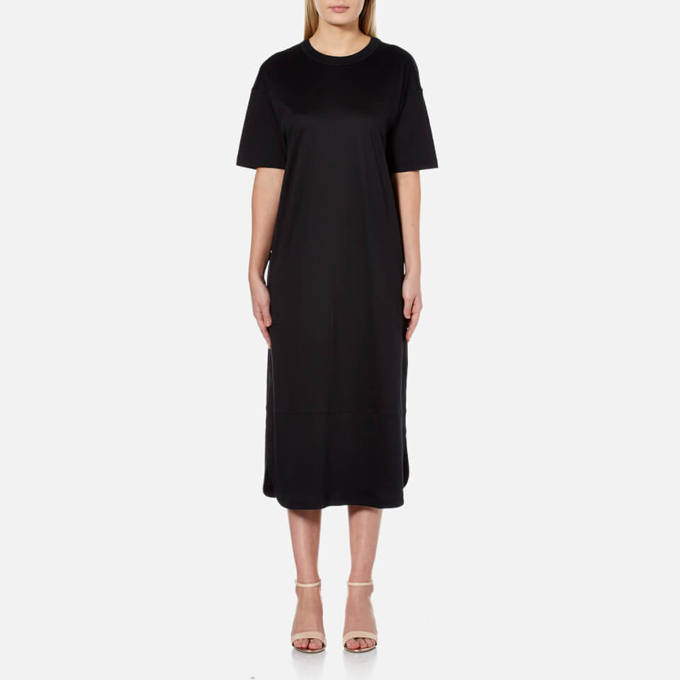 Helmut Lang Womens T-shirt Dress Black S