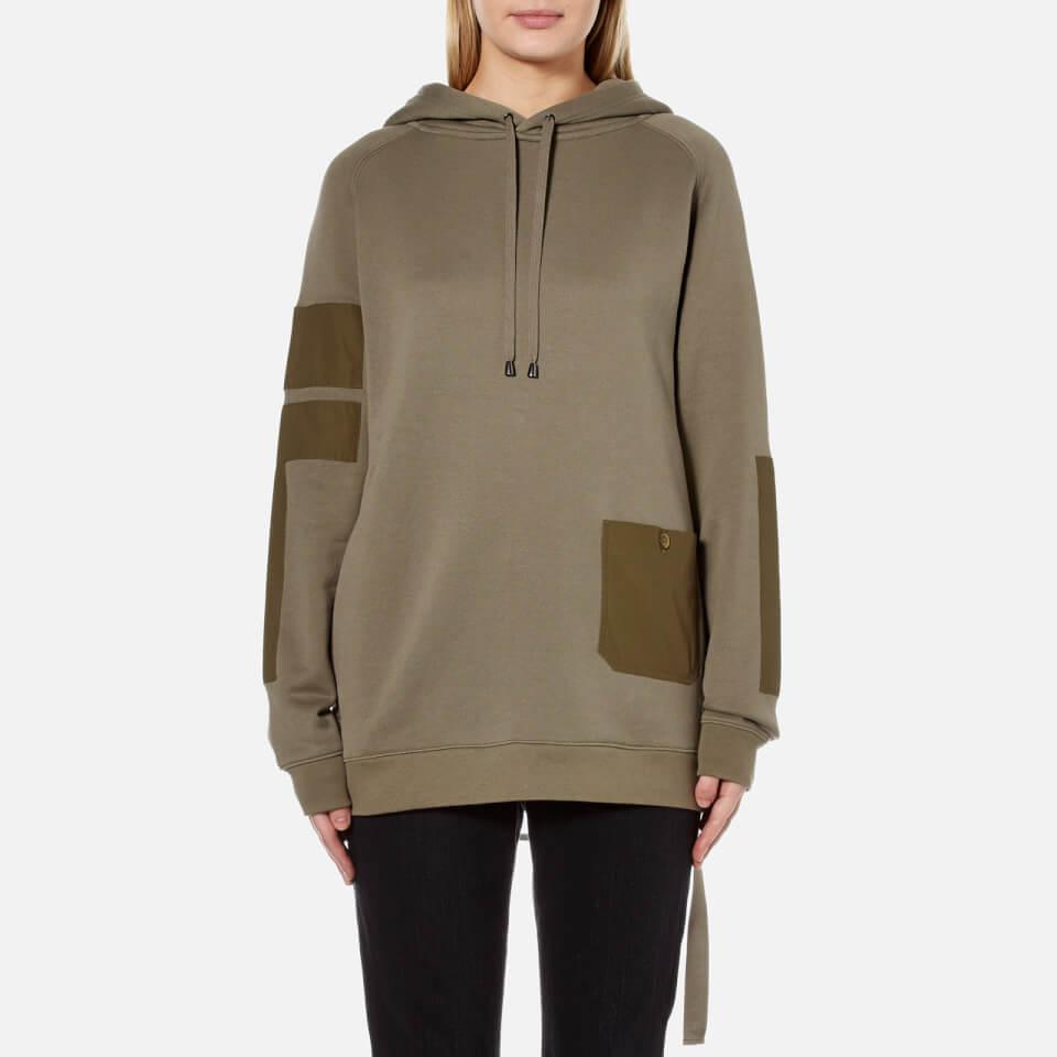 Helmut Lang Womens Patch Pocket Sweatshirt Vintage Marsh L