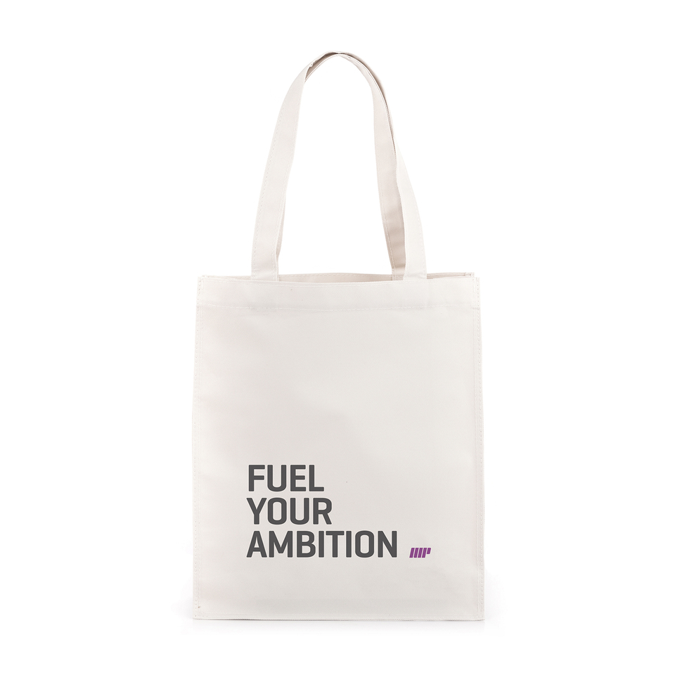 fuel-your-ambition-slogan-gym-bag