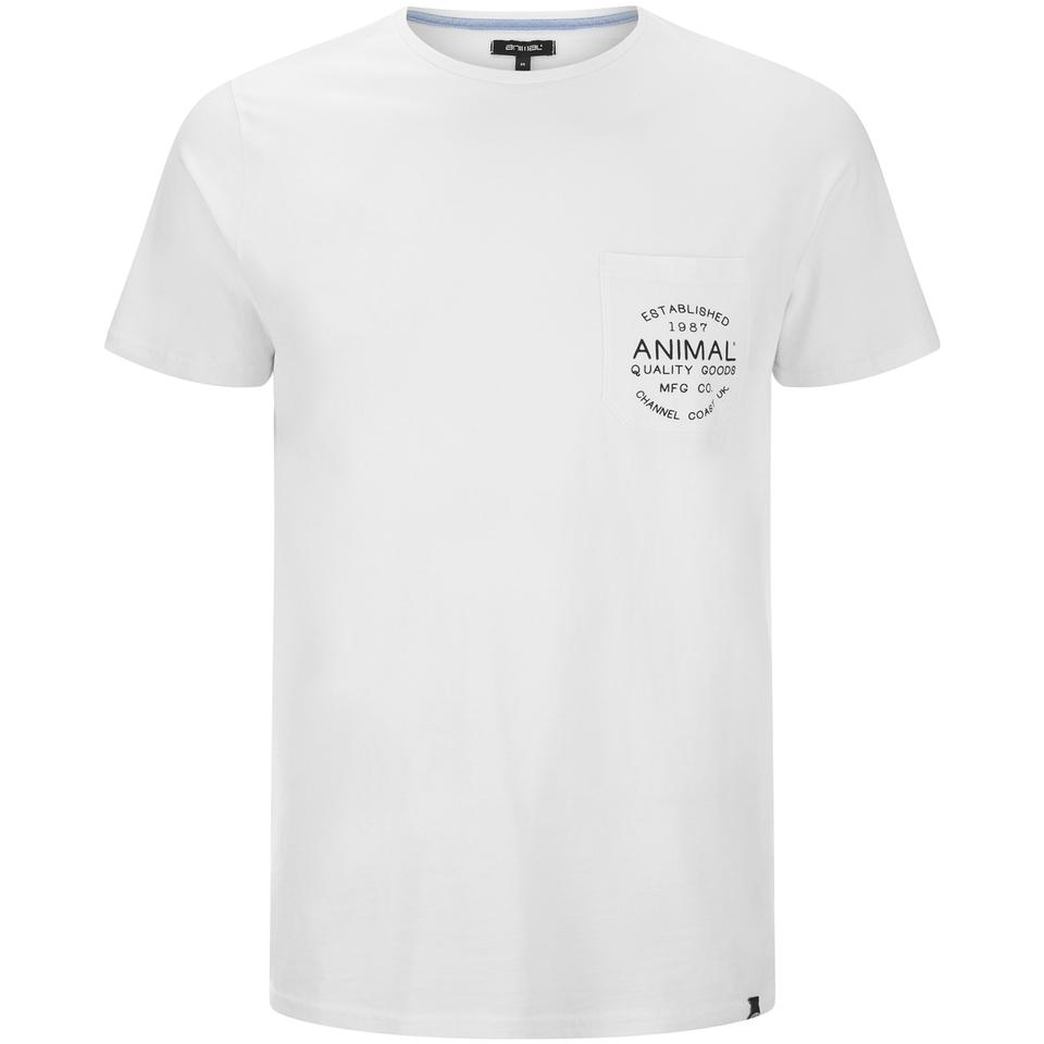 Camiseta Animal Crafted - Hombre - Blanco - XL - Blanco