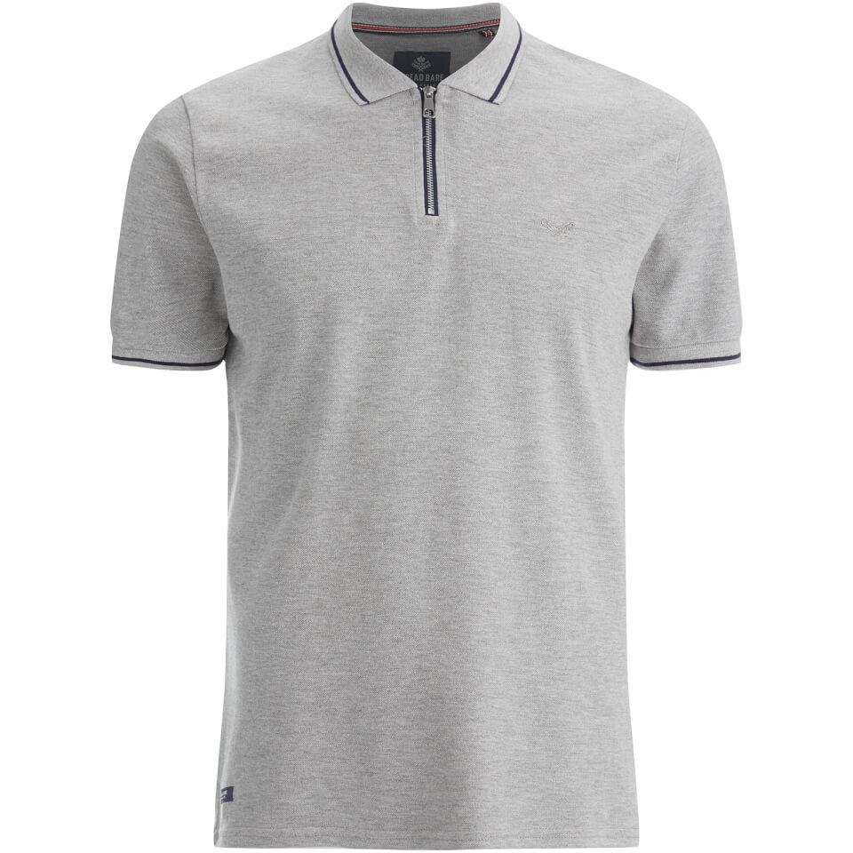 threadbare-men-redcar-short-sleeve-zip-polo-shirt-grey-m