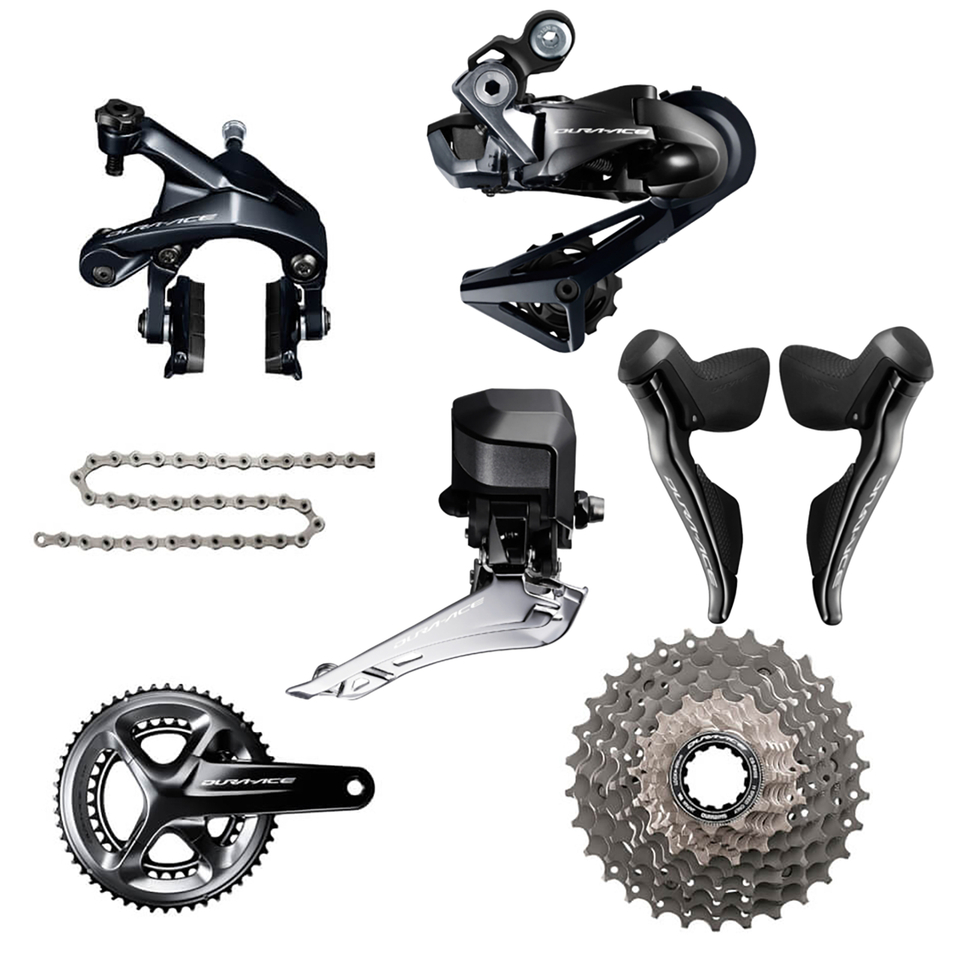 Shimano Dura Ace R9150 Di2 11 Speed Groupset - 170mm-11/28-34/50
