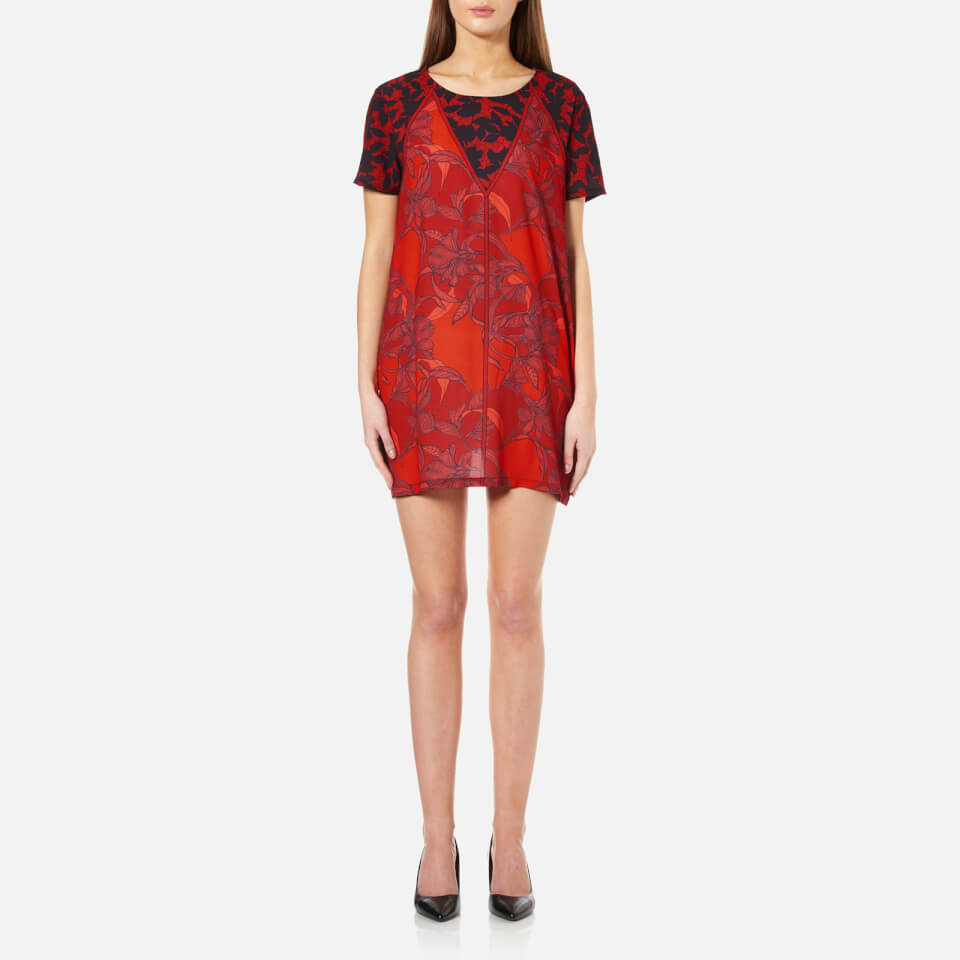 Minkpink Womens Femme Fatal T-shirt Dress Multi M