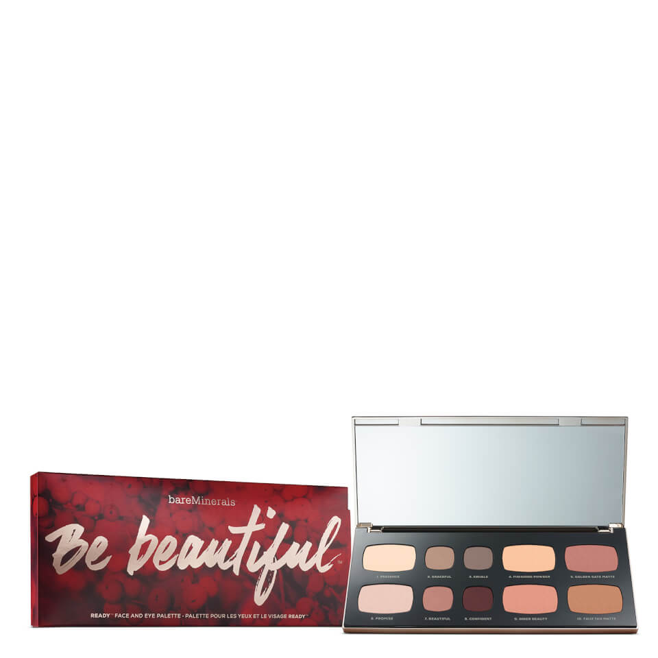 bareMinerals Be Beautiful Ready® Face and Eye Palette