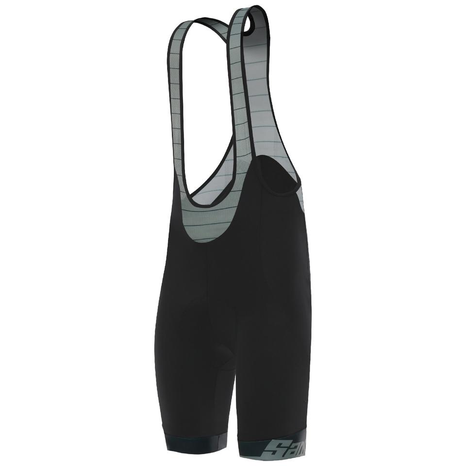 santini-il-lombardia-bib-shorts-black-s