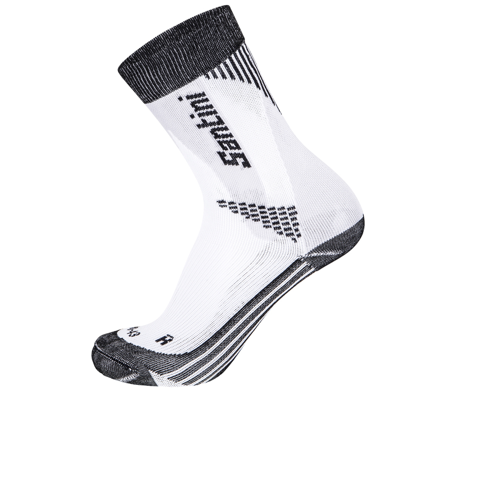 santini-comp-2-profile-socks-black-xs-s