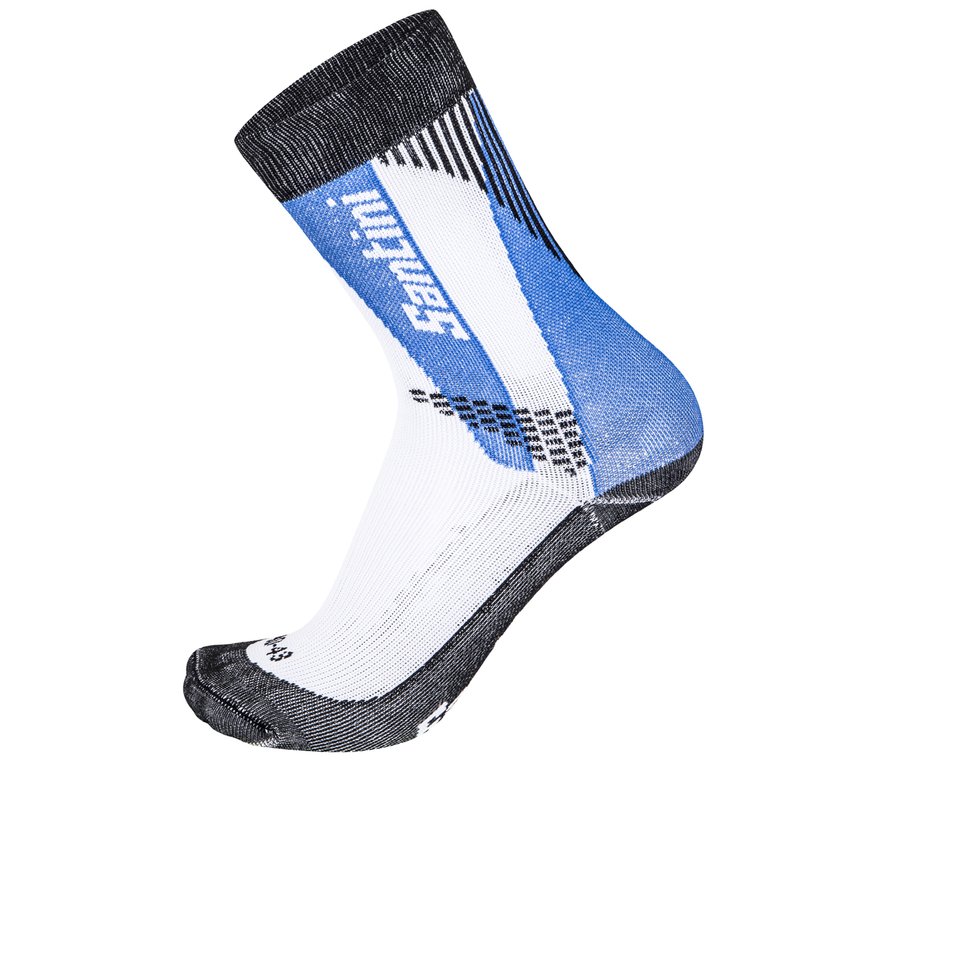 santini-comp-2-profile-socks-blue-xs-s