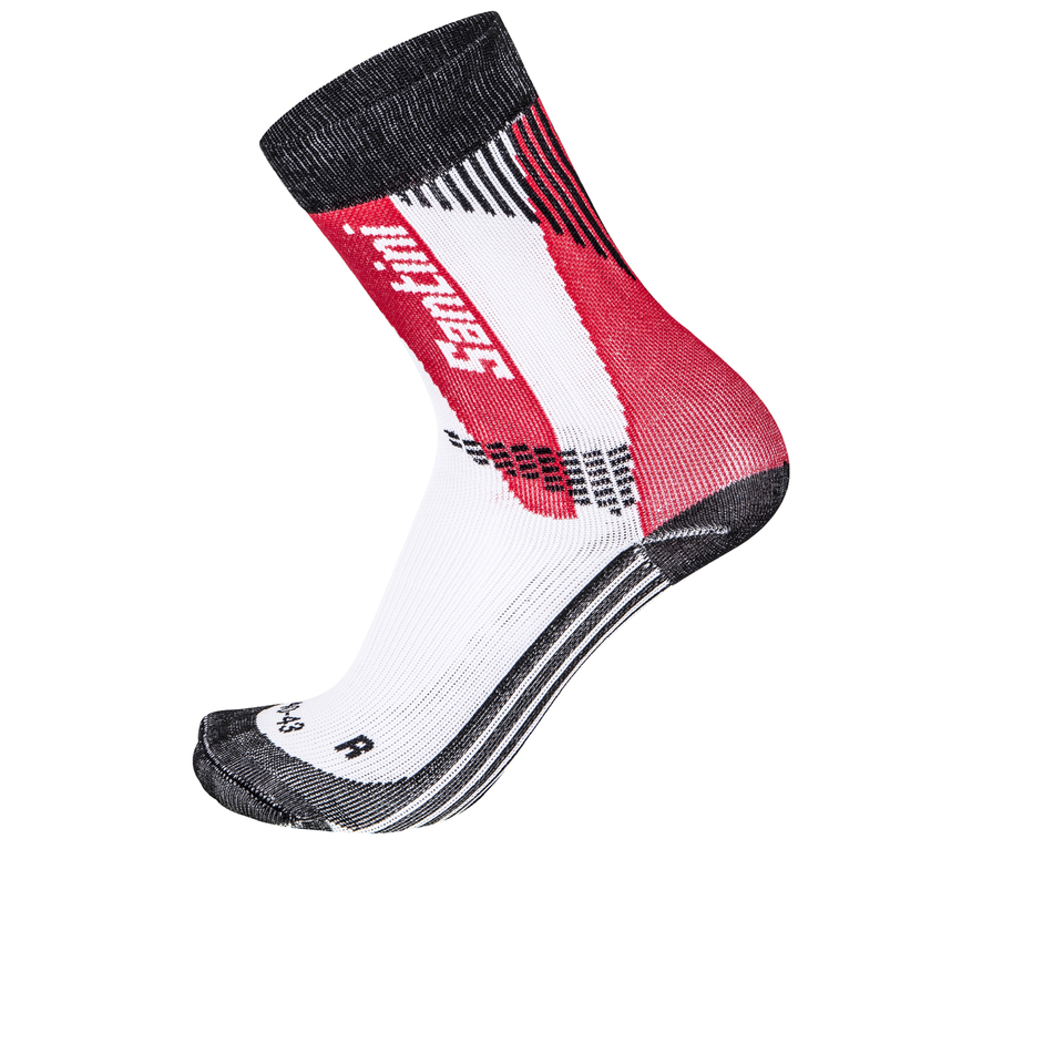 santini-comp-2-profile-socks-red-m-l