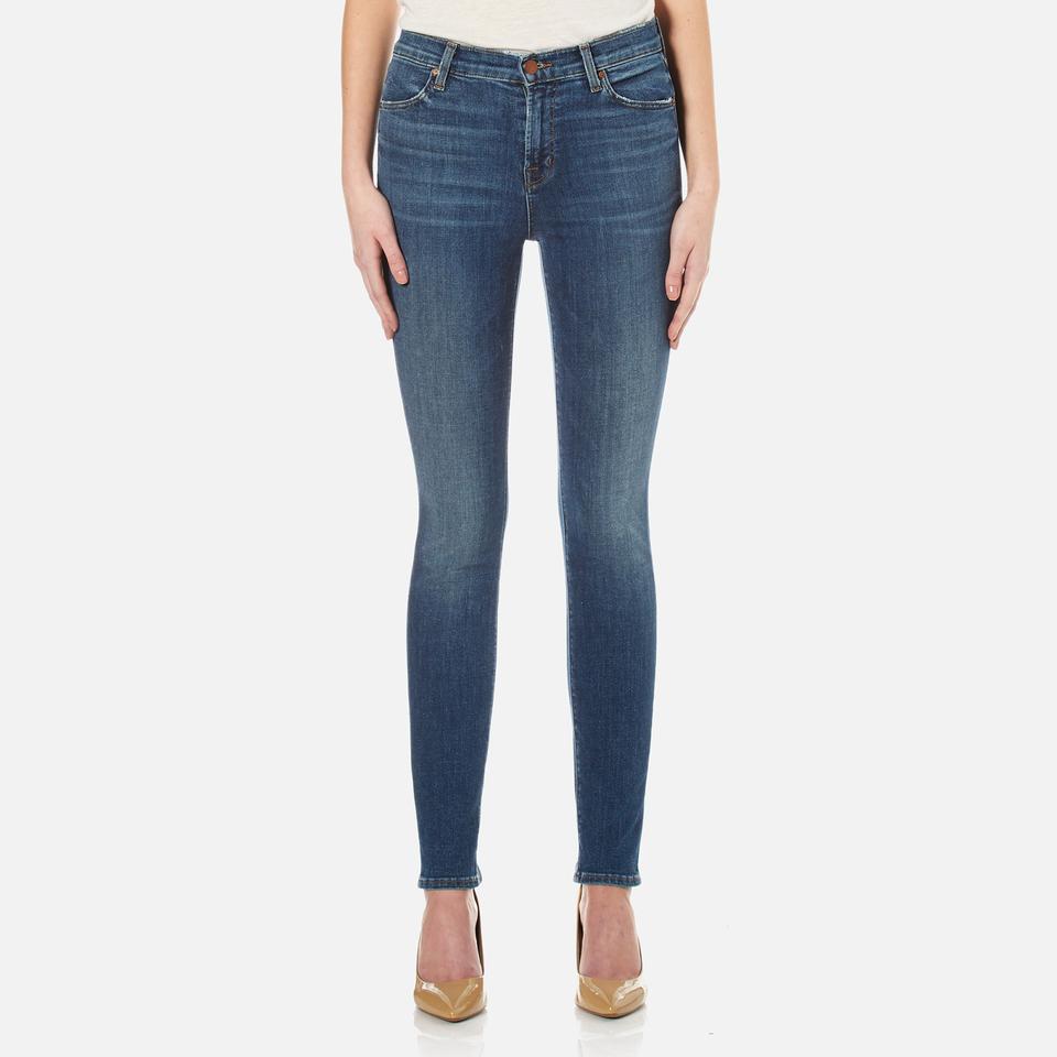 J Brand Womens Maria High Rise Skinny Jeans Identity W25/l32