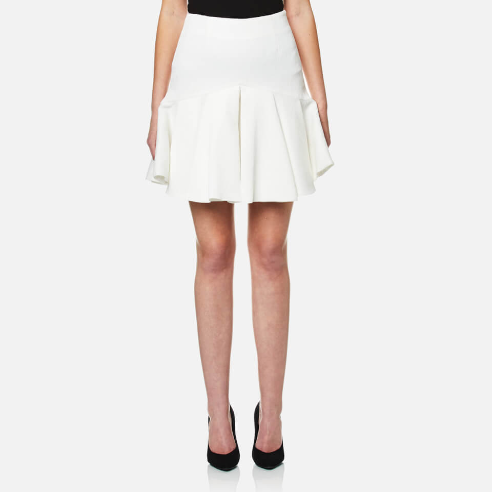 cmeo-collective-women-competition-flared-skirt-ivory-s-white