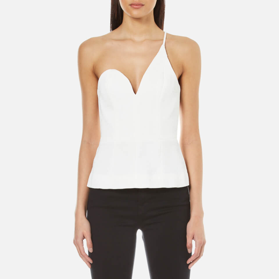 cmeo-collective-women-competition-one-strap-top-ivory-m-white