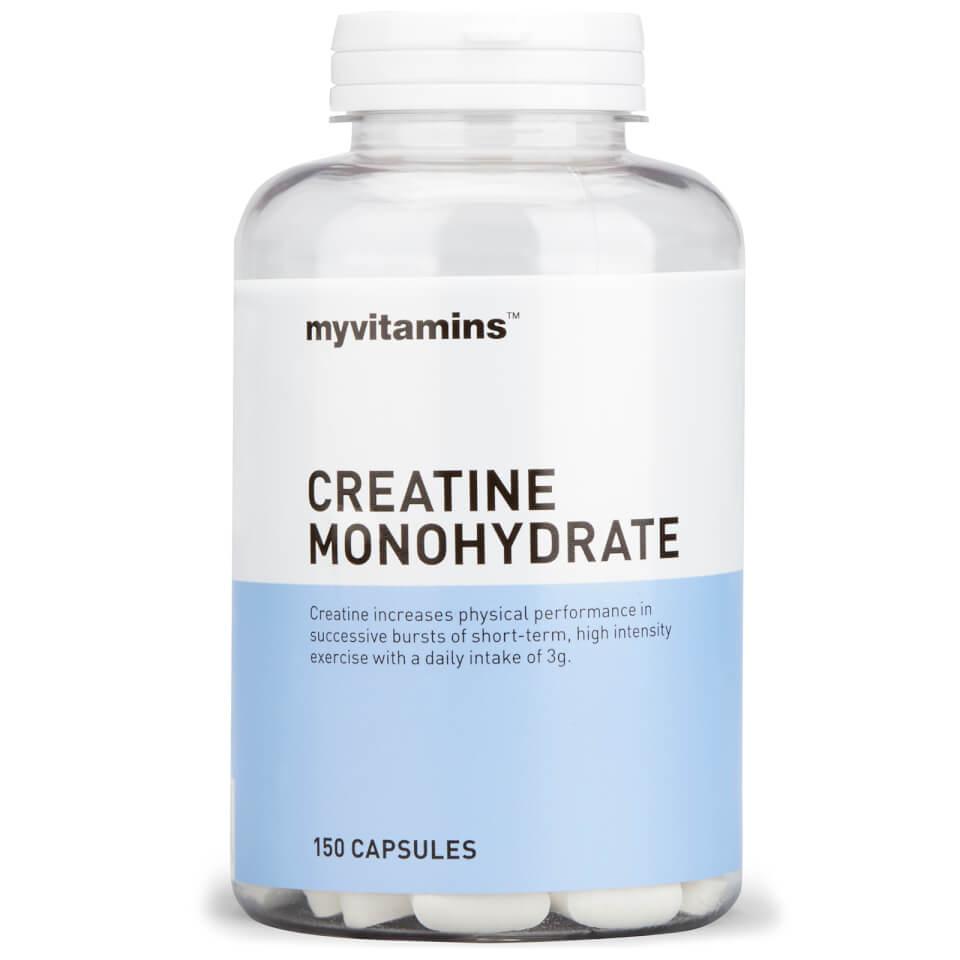 Creatine Monohydrate Tablets | Myvitamins