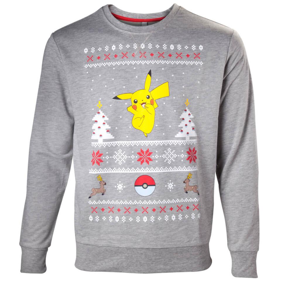 Pokémon Pikachu Christmas Jumper   Nintendo Official UK Store