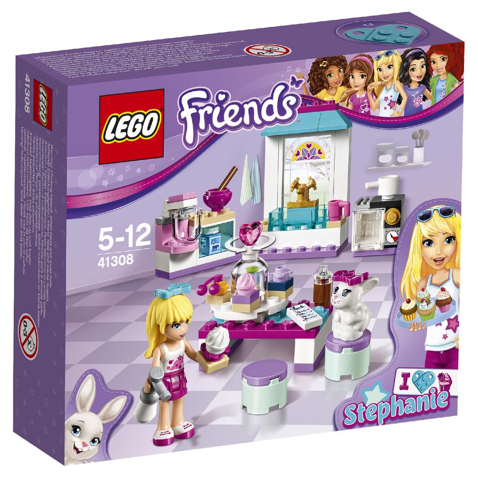 Friends Pasteles de amistad de Stephanie, Juegos de construcción