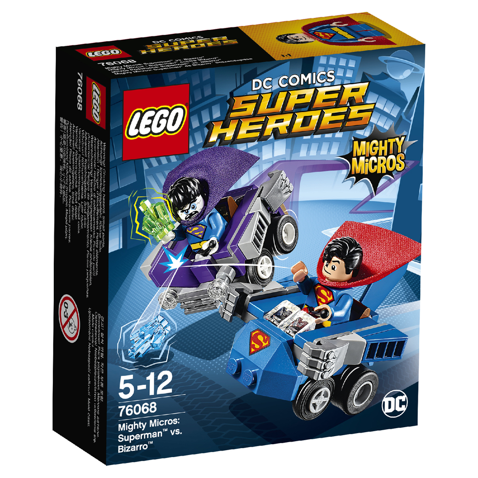 LEGO Superheroes Mighty Micros Superman™ vs. Bizarro™ (76068)