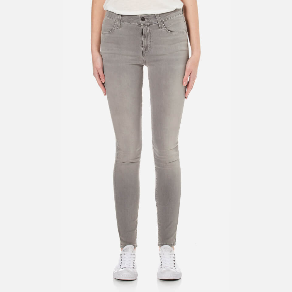 J Brand Women S Maria High Rise Supersoft Photoready Skinny Jeans Dusk Haze Free Uk Delivery Available