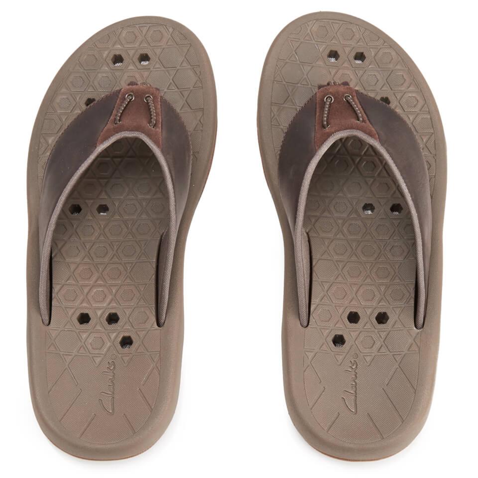 clarks-men-bosun-coast-nubuck-toe-post-sandals-brown-7