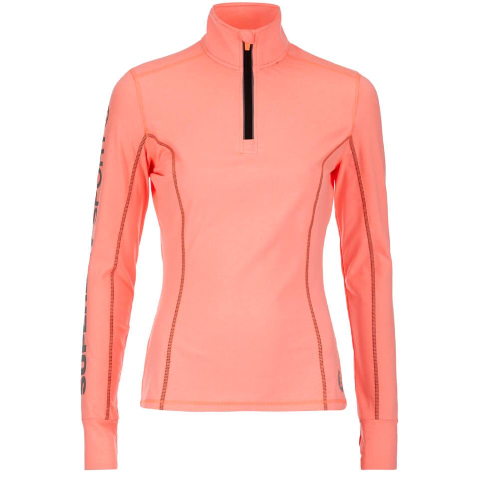 superdry-women-gym-half-zip-track-top-fluro-coral-grit-s-pink
