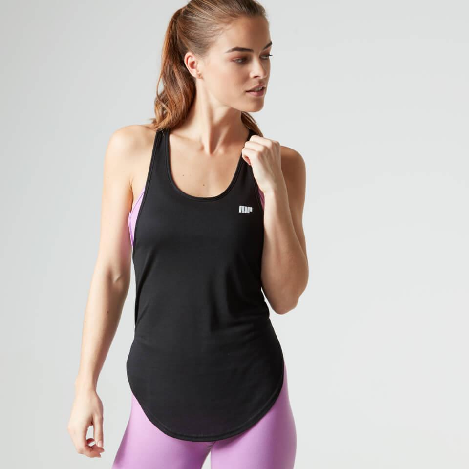 Myprotein Womens Core Twist Racer Back Vest Black, L