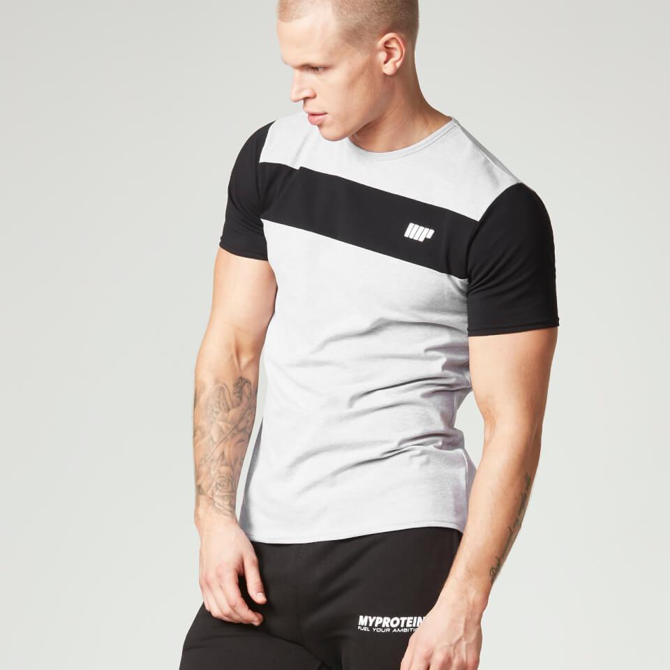 Myprotein Men's Core Stripe T-Shirt - Grey, S