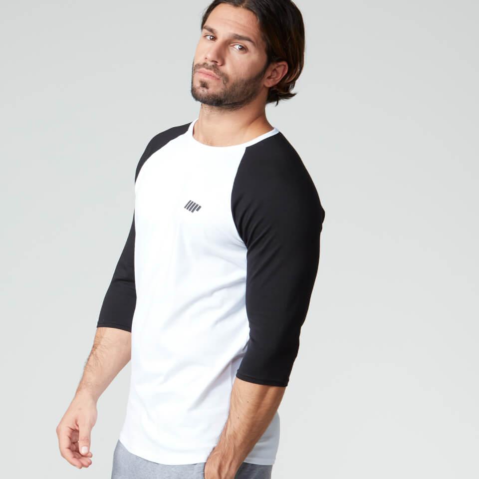 Myprotein Men's Core Baseball T-Shirt - White, S
