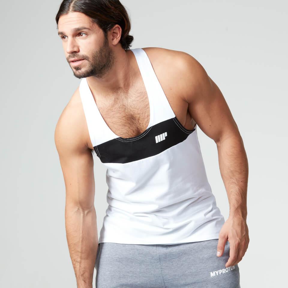 myprotein-men-core-stripe-stringer-vest-white-s