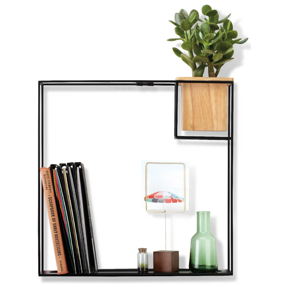 umbra-cubist-large-shelf-black