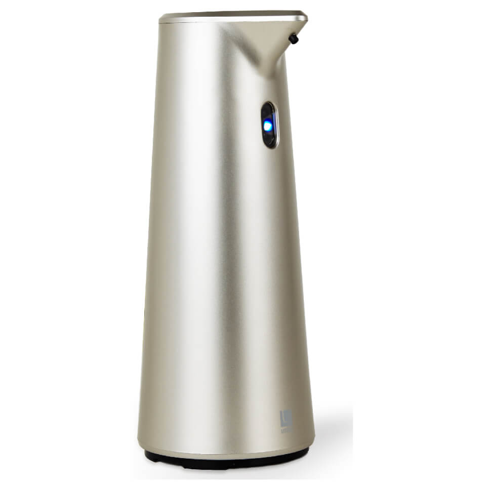 umbra finch sensor pump soap dispenser nickel homeware  thehutcom -