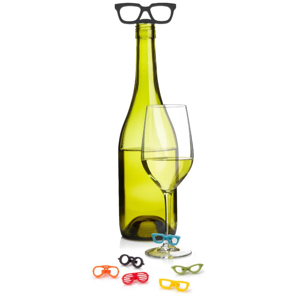 umbra-glasses-wine-charms-topper-set