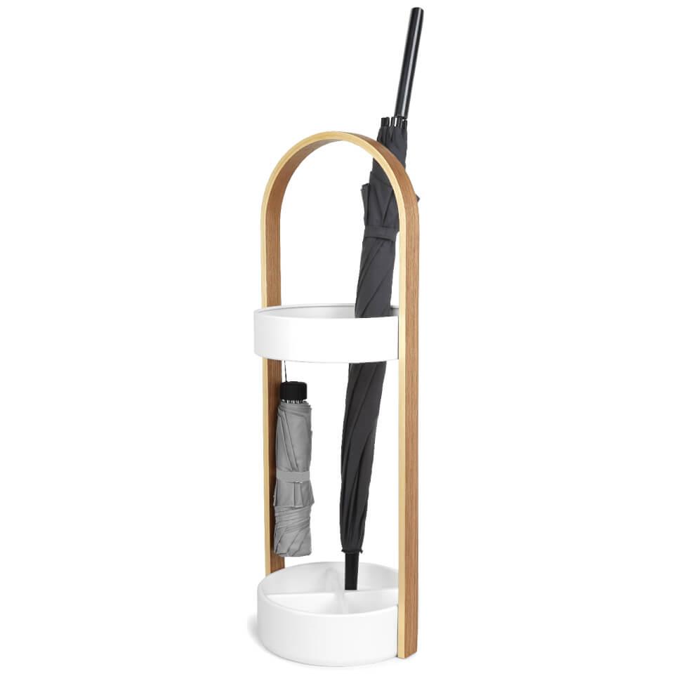 Umbrella Stand Umbra: Umbra Hub Umbrella Stand - White Homeware