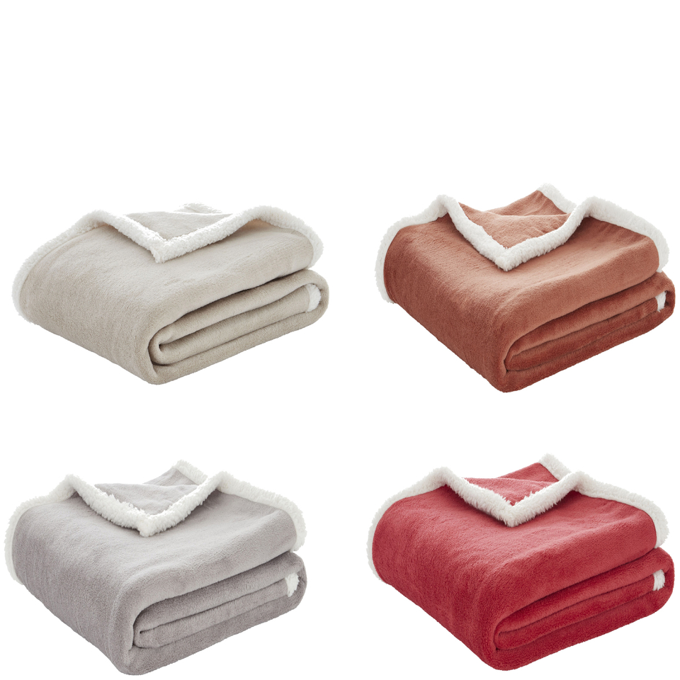 catherine-lansfield-plain-sherpa-fleece-throw-125cm-x-150cm-red