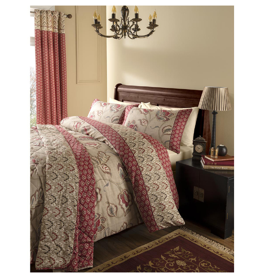 catherine-lansfield-kashmir-bedding-set-red-single