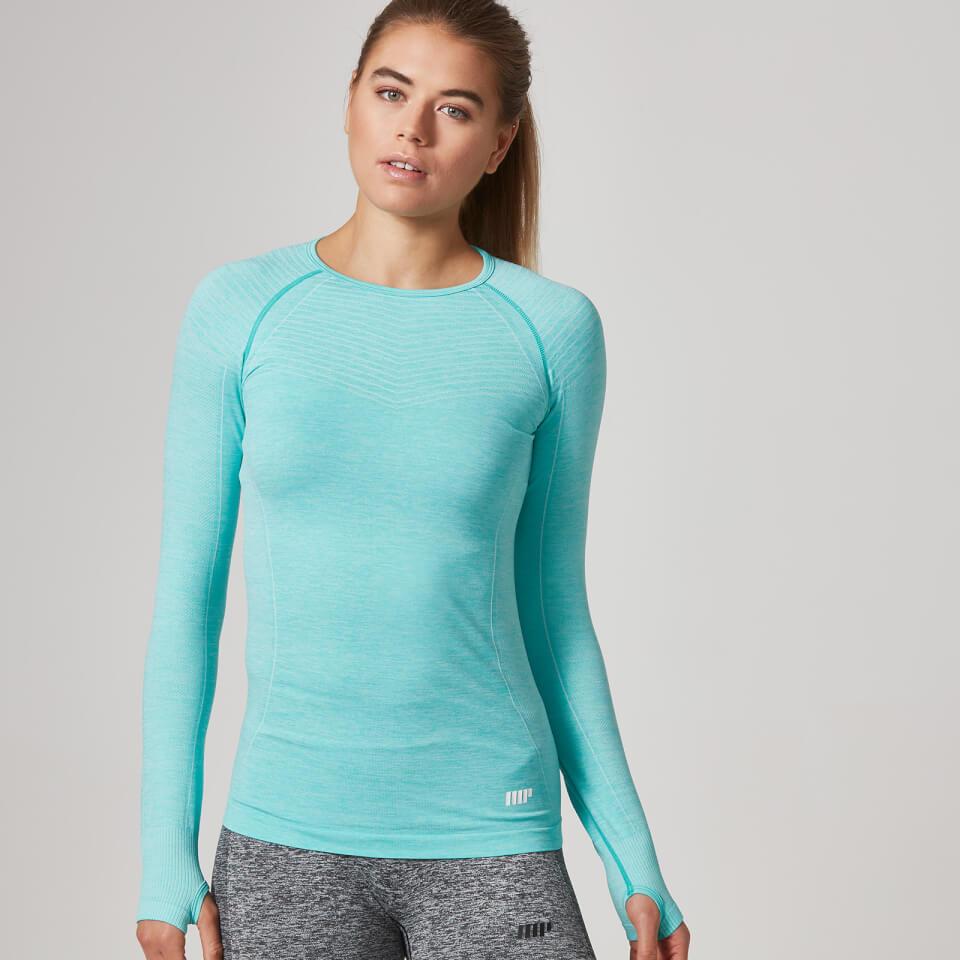 Myprotein Women's Seamless Long Sleeve T-Shirt - Mint Green, XS