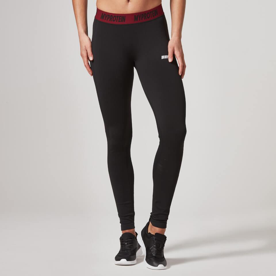 Myprotein Womens Seamless Leggings Black, L