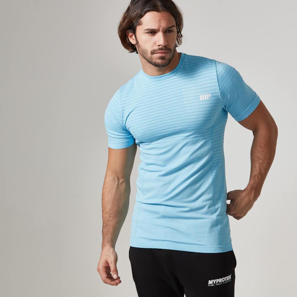 Myprotein Men's Seamless T-Shirt - Blue, S