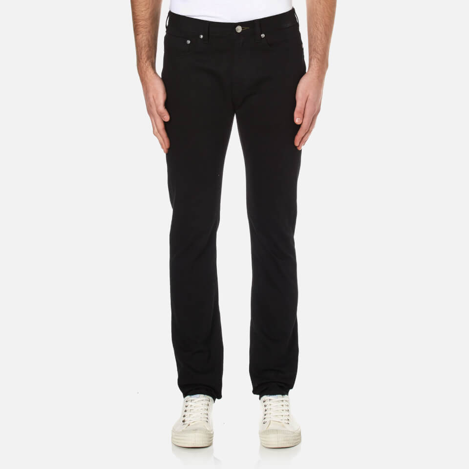 Ps By Paul Smith Mens Slim Fit Jeans Black W36/l34