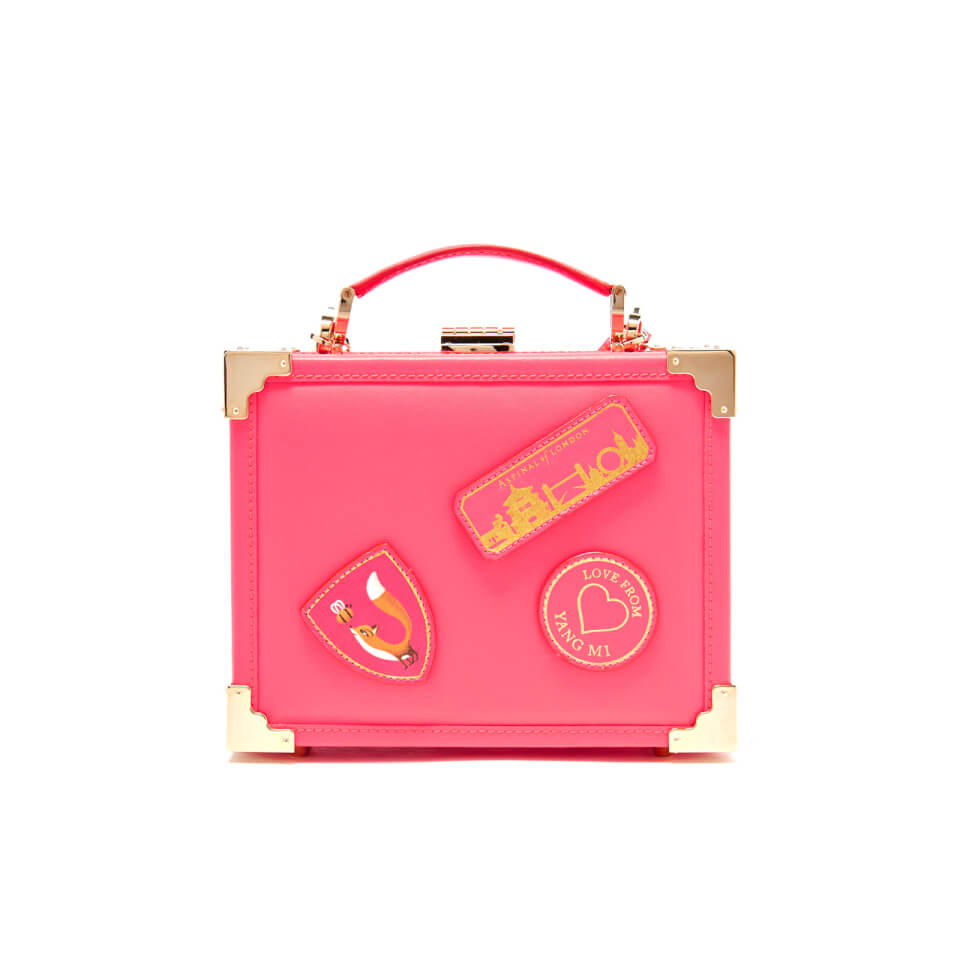 aspinal-of-london-women-yang-mi-trunk-clutch-neon-pink
