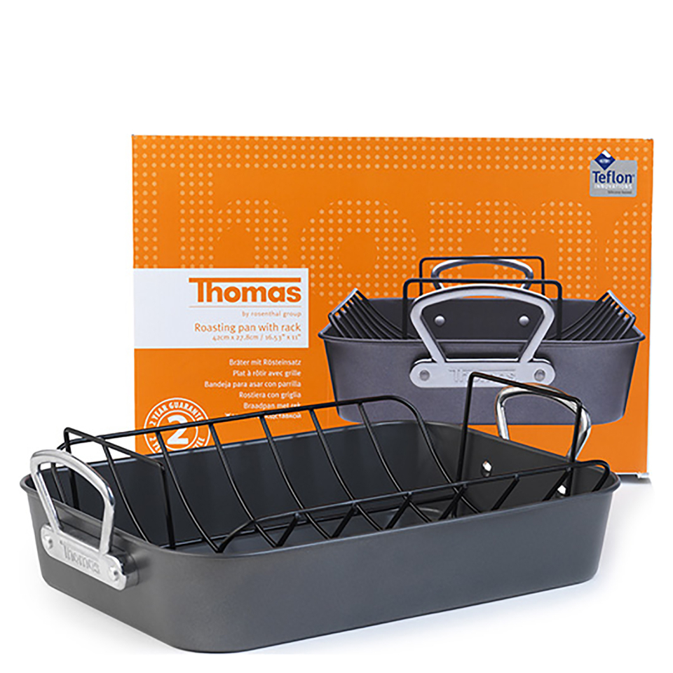 thomas-rosenthal-group-roasting-pan-with-rack