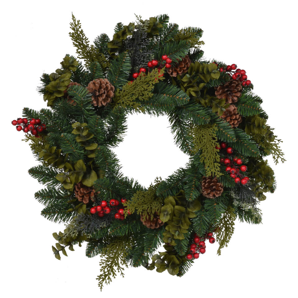 bark-blossom-berries-wreath-green