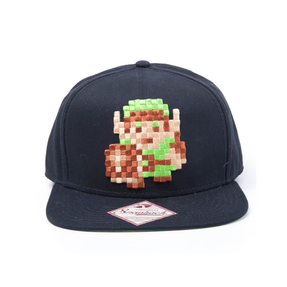 The Legend of Zelda Link 8-Bit Snapback Cap  7eb13f5b36e7