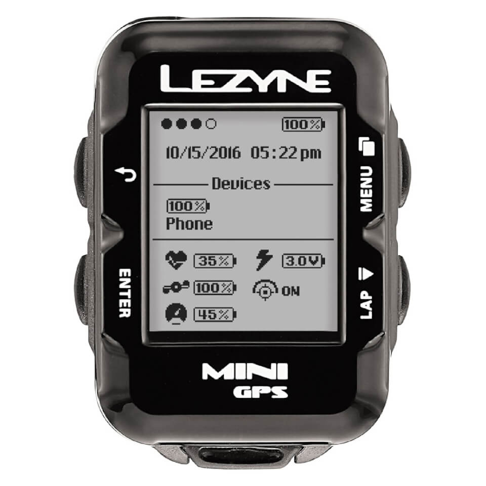 Lezyne Mini GPS Cycle Computer