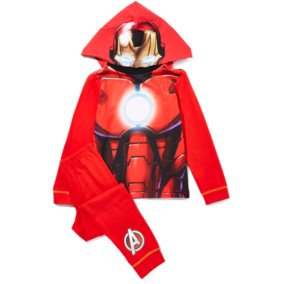 marvel-boy-iron-man-novelty-hood-pyjamas-red-2-3-years