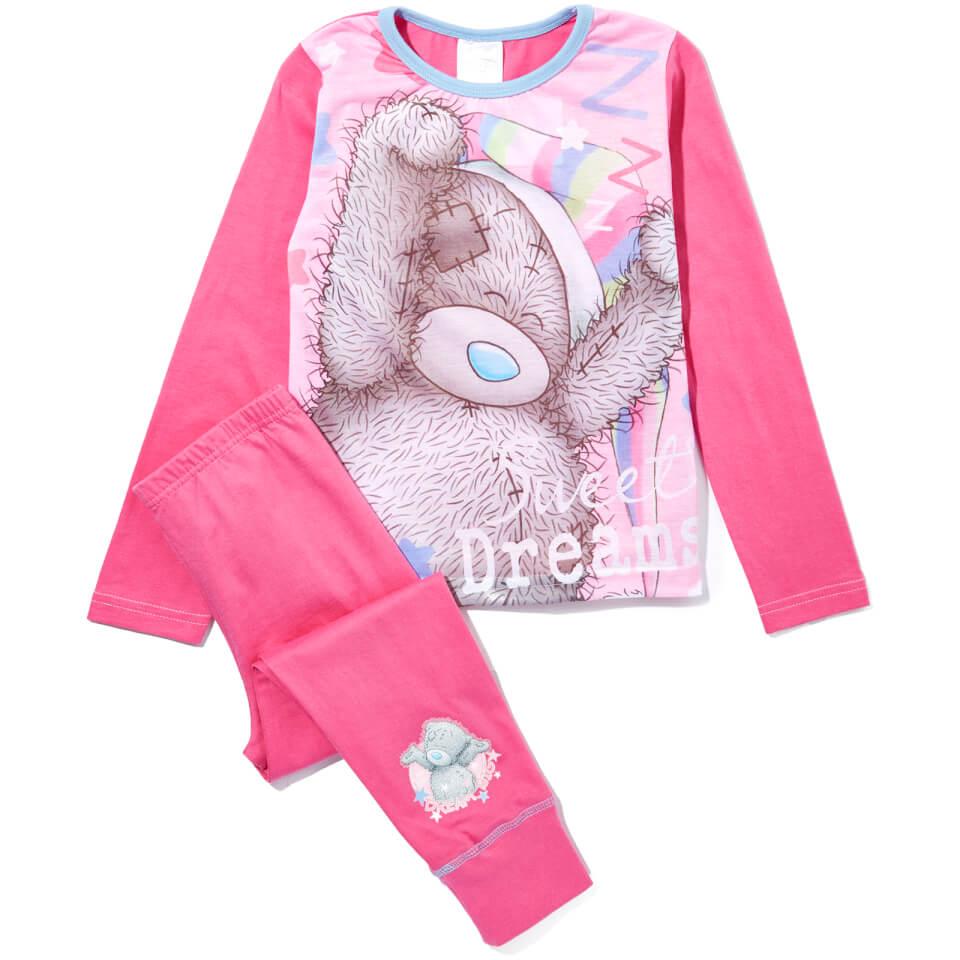 Me to You Girl's Printed Pyjamas Pink 11 12 years