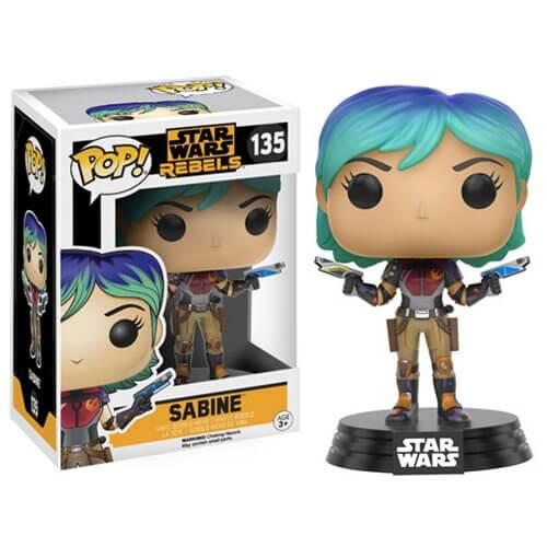 Star Wars Rebels Sabine Pop! Vinyl Bobble Head