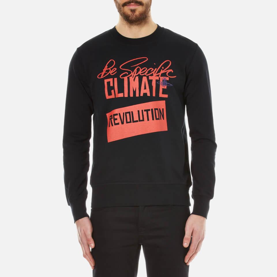 Vivienne Westwood Man Mens Be Specific Sweatshirt Black L